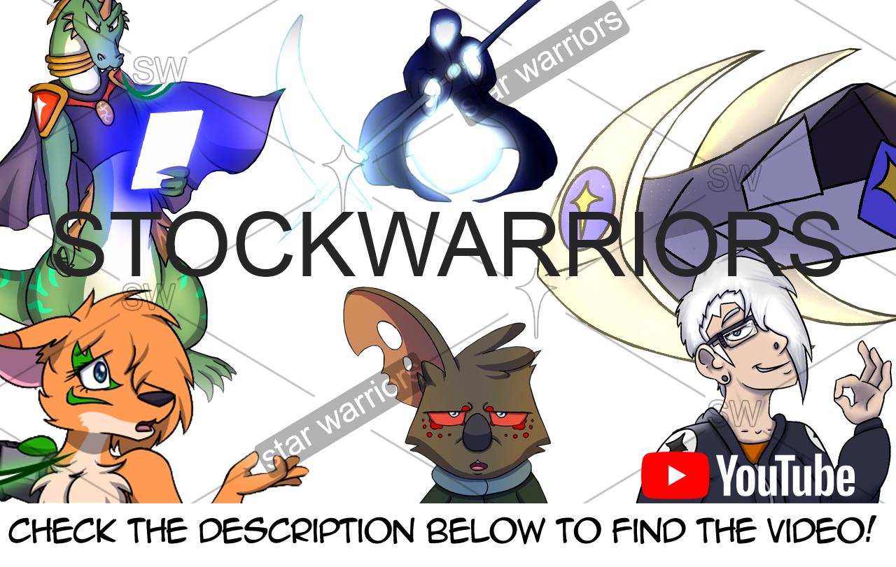 """Stock Warriors"" by Guest Artist: SuperDS64"
