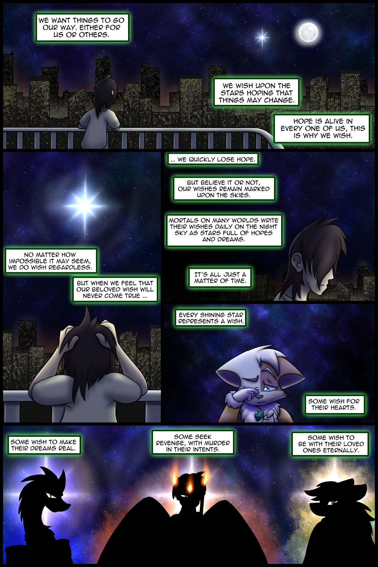 Ch0 Remastered Page 1-2 – Desperately Wishing – All Kinds of Wishes