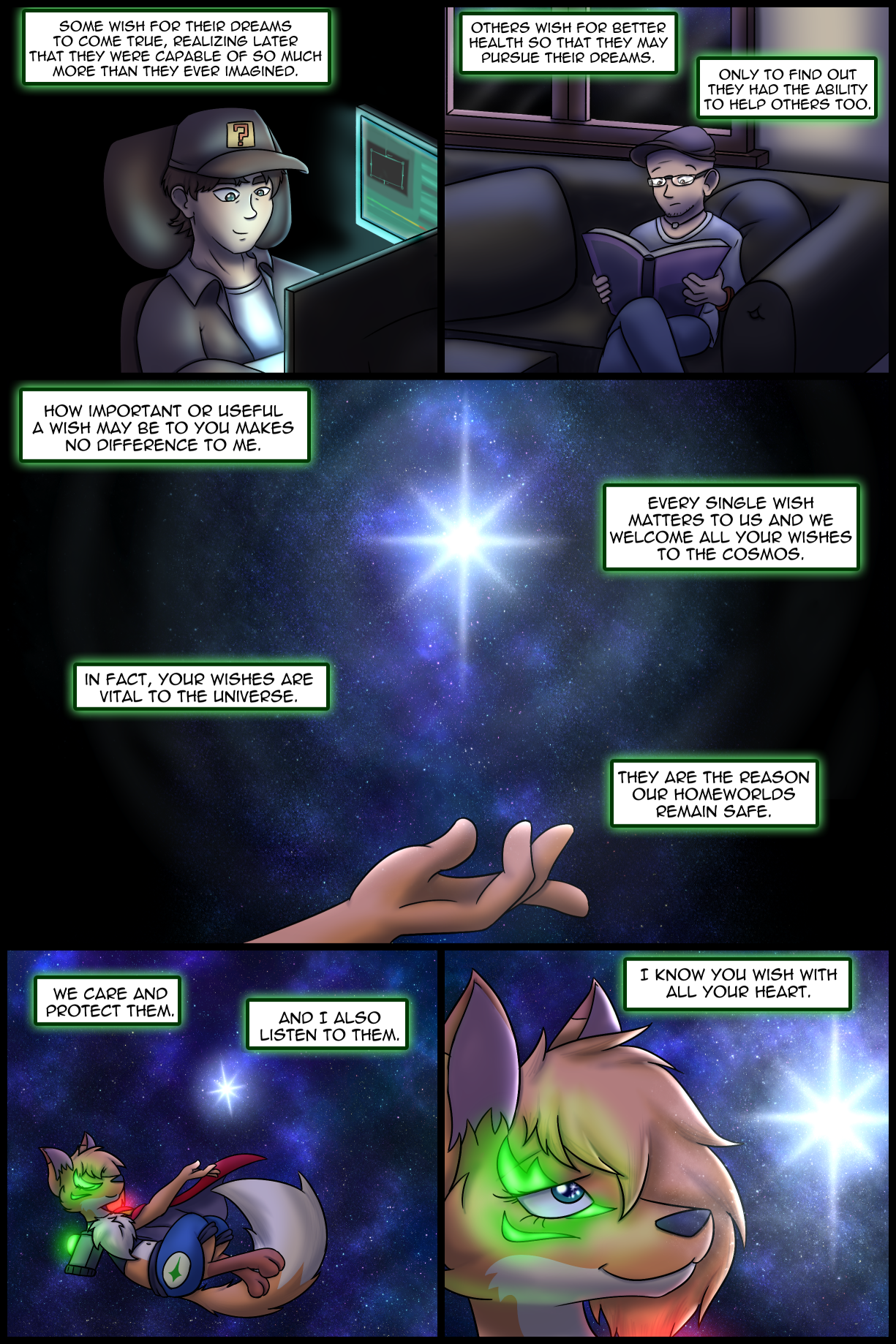 Ch0 Remastered Page 3-4 – The Value of Wishes – Nurturing Wishes
