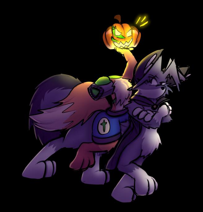Virmir Halloween painted